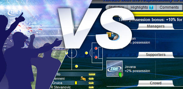 Top Eleven Live Match
