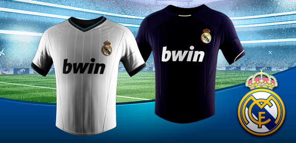 Real Madrid jerseys and emblems available in Top Eleven Club Shop